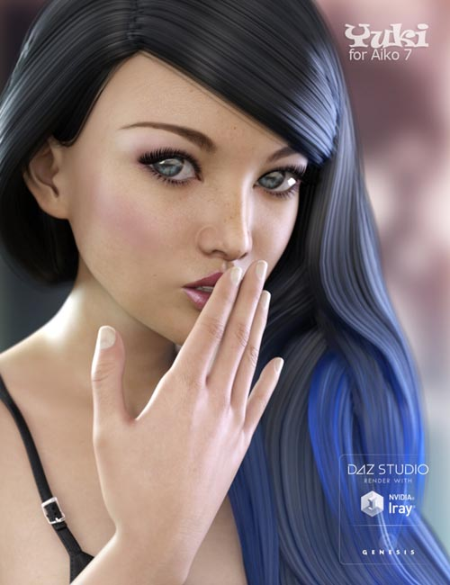 Yuki Bundle - Character, Clothing and Outfit for Genesis 3 Female(s)
