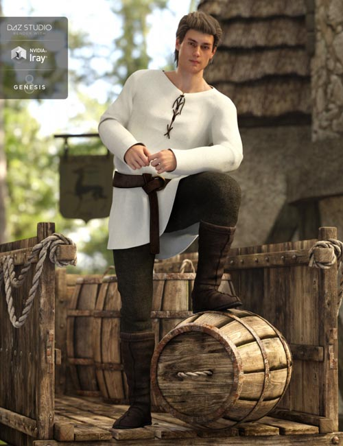 Peasant Outfit for Genesis 8 Male(s)