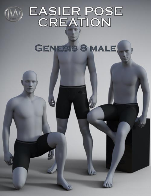 Easier Pose Creation for Genesis 8 Male