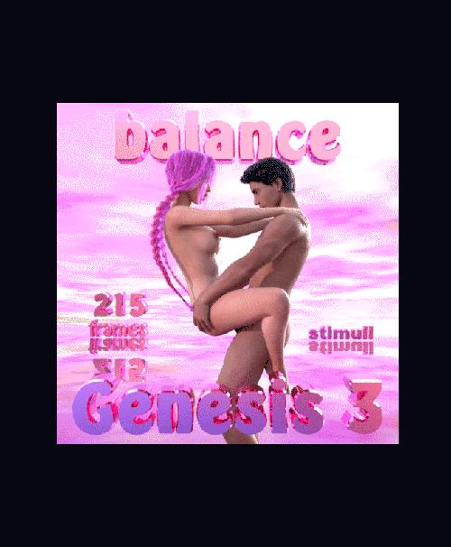 Balance For Genesis 3 Figures