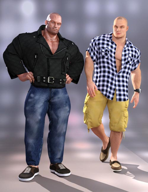 Dynamic Modern Clothes for Hercules and Swole 7