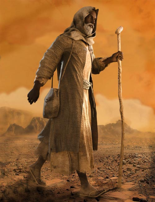 Desert Robes for Genesis 8 Male(s)