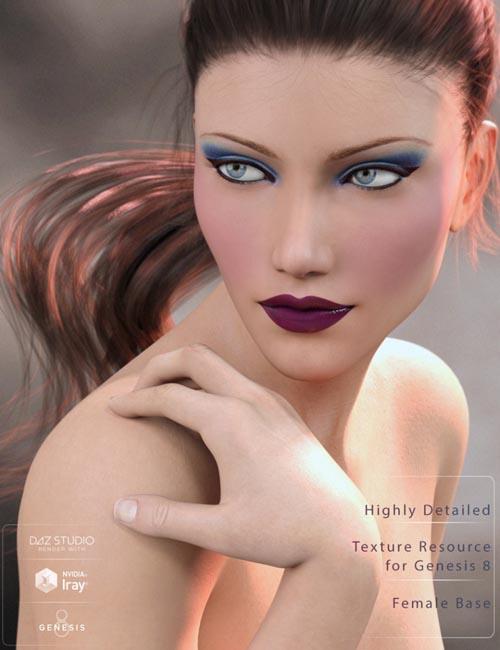 Genesis 8 Female Texture Merchant Resource- Light Skin