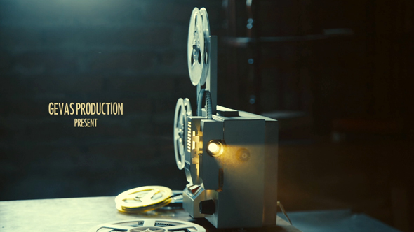 Vintage Memories Film Projector