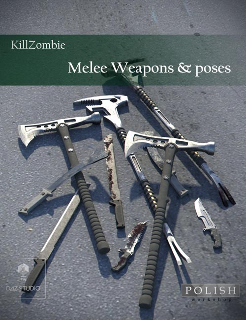 KillZombie Melee Weapons