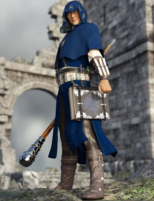 Wizard Outfit for Genesis 3 Male(s)