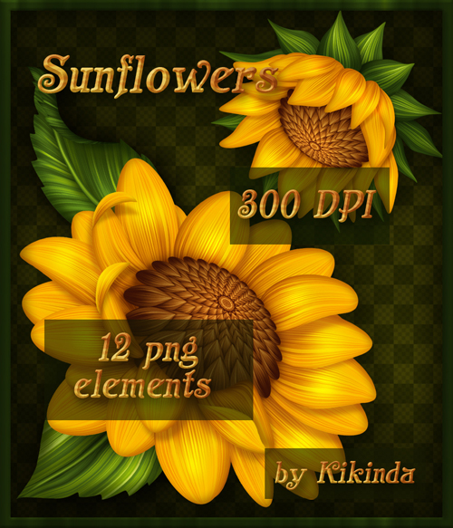 Sunflowers Elements
