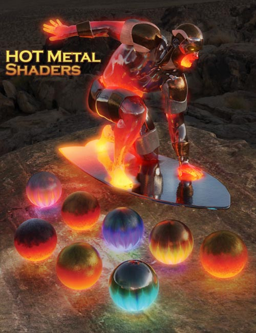 Hot Metal Shaders