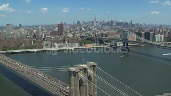 Brooklyn and Manhattan Bridge 2