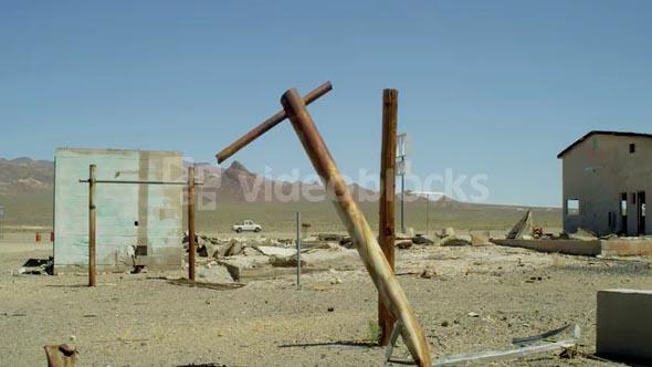 Abandoned Desert Buildings