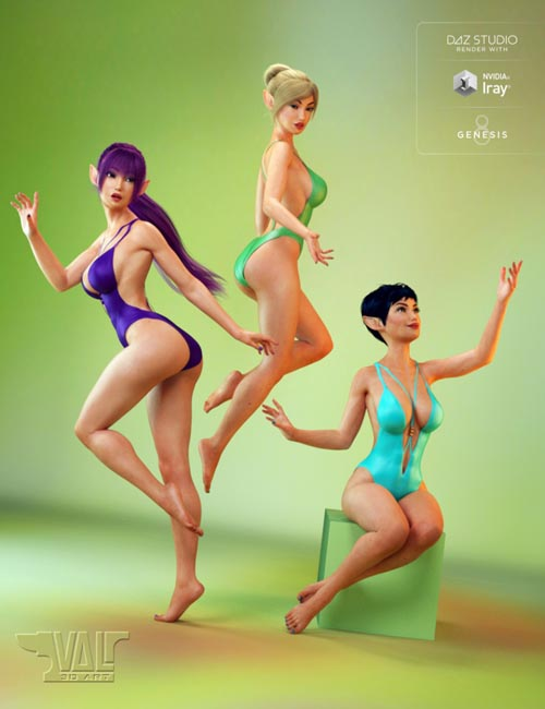 Pixie Charm Poses for Genesis 8 Female(s)