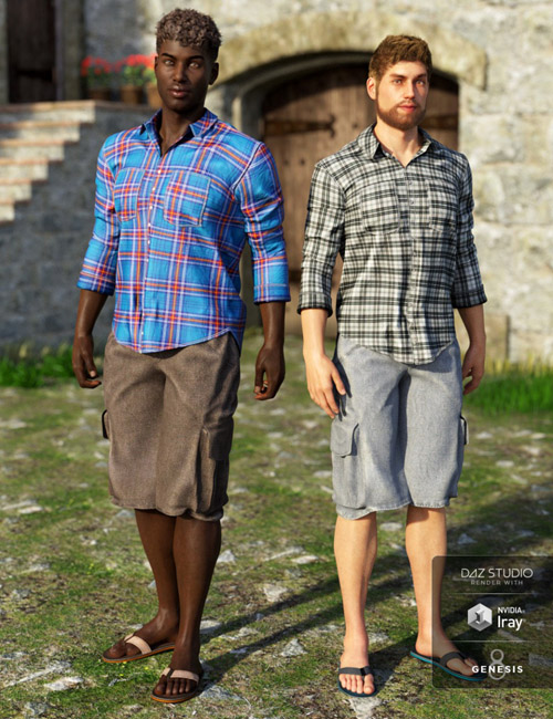Boardwalk Casual Outfit Textures
