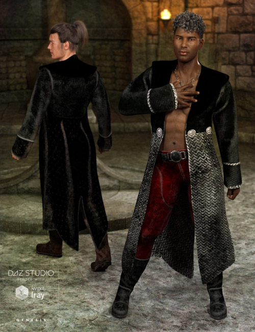 Demon Master Outfit Textures