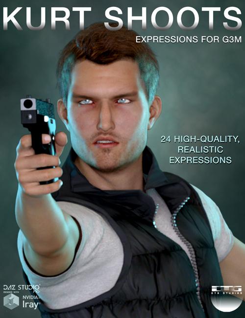 DTG Studios' Kurt Shoots - Expressions for G3M