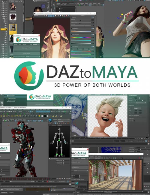 Daz to Maya (MAC)