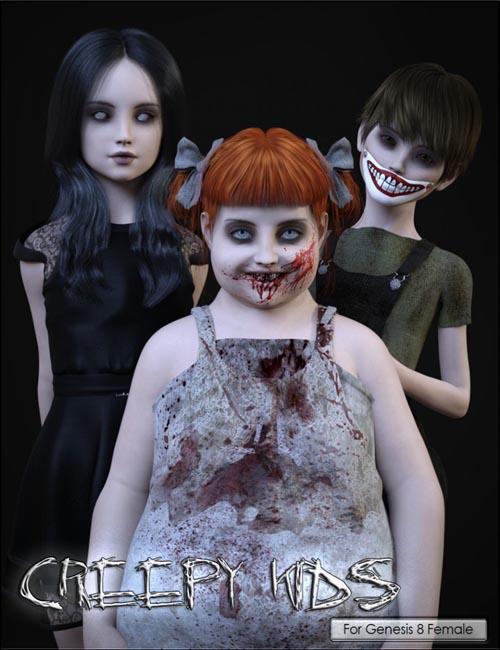VYK Creepy Kids for Genesis 8 Female
