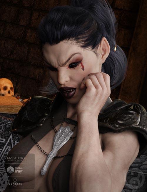 Vampyre for Genesis 8 Female