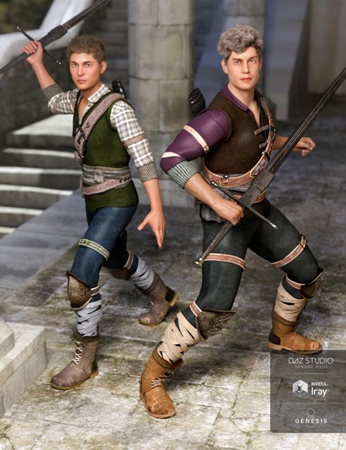 Time Rogue Outfit Textures