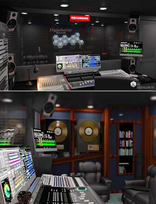 Digitallab3D Recording Studio