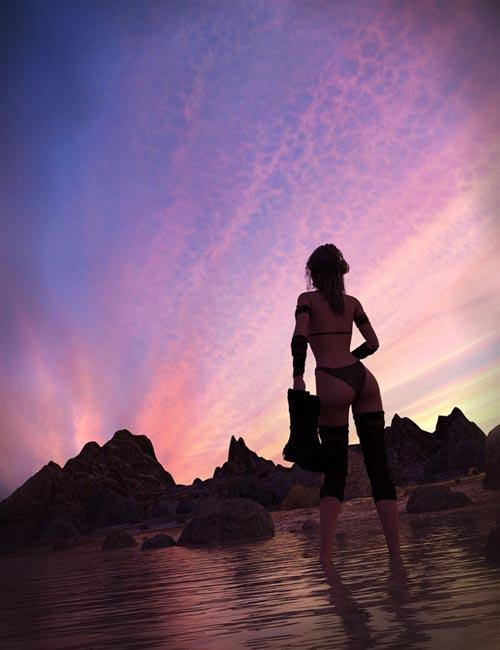 Orestes Iray HDRI Skydomes Vol 4 - Sunset