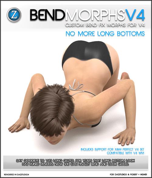 Bend Morphs for V4