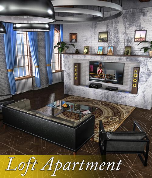 Slide3D Loft Apartment