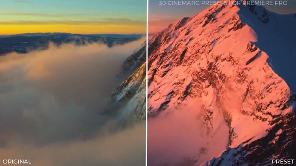 30 Cinematic Color Presets