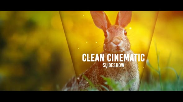Clean Cinematic Slideshow