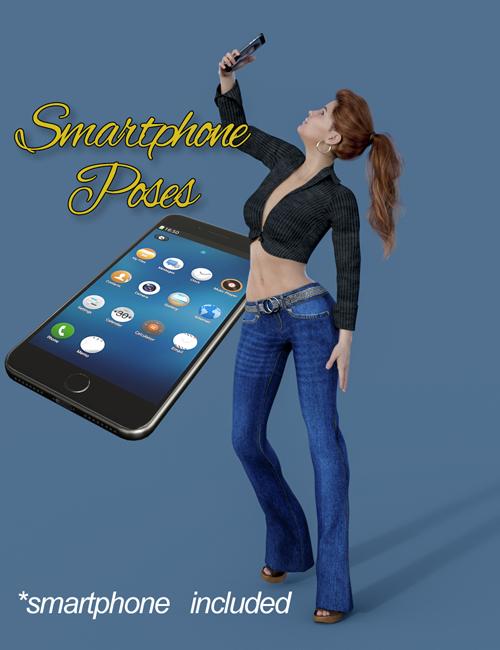 Slide3D Smartphone Poses for Genesis 8Females