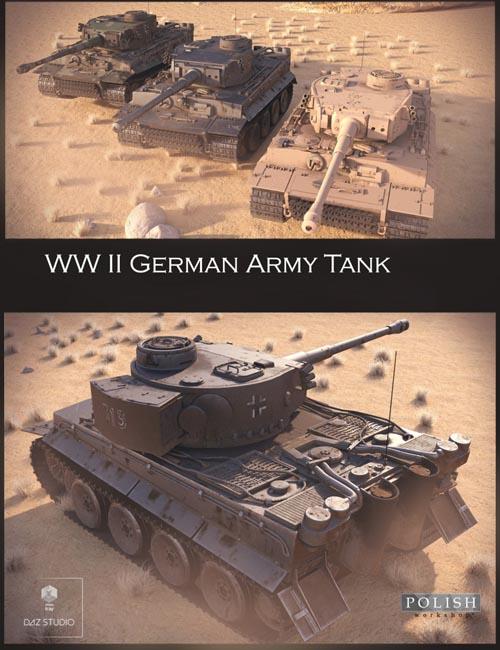 WW II German Tank