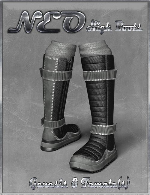 NEO High Boots and High Top Sneaker for Genesis 8 Female(s)