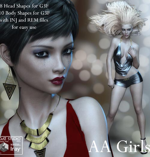 AA Girls for Genesis 3 Female