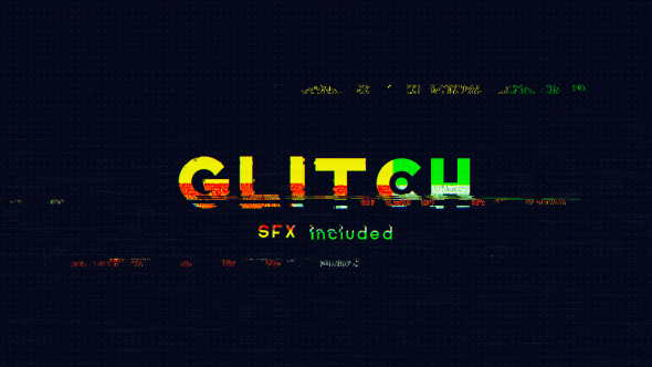 Glitch Logo Opener