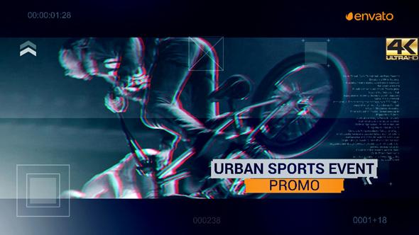 Urban Sport Event Promo