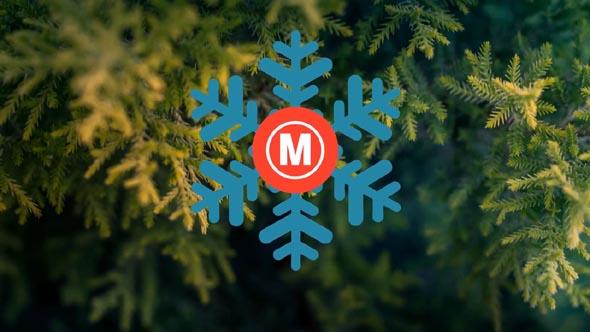 Minimal Christmas Logo
