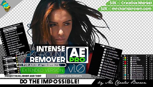Intense Background Remover AE Pro
