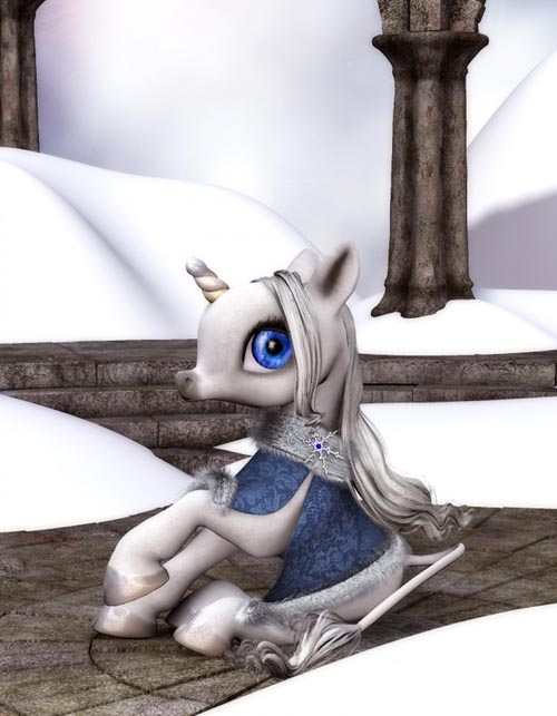 Winter Cloak for the Baby Unicorn