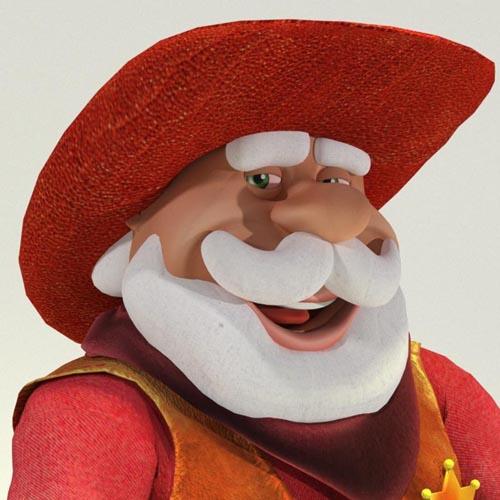 Wild West Santa - Toon Santa Disguise