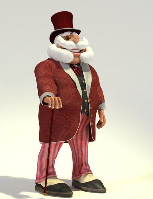 Gentleman Santa - A Victorian Disguise for Toon Santa