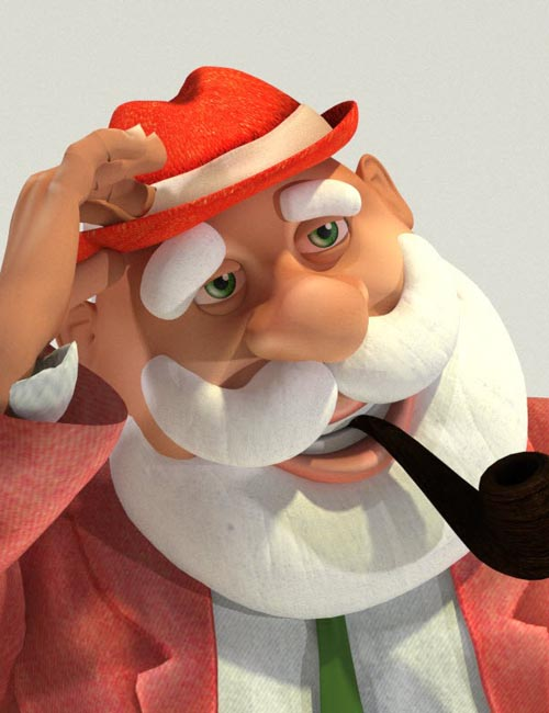 Fedoraville Santa - Toon Santa Disguise