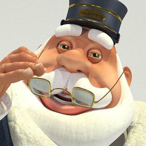 Train Conductor Santa - Original Santa Claus for Poser