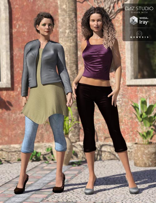Casual Dayz for Genesis 8 Female(s)