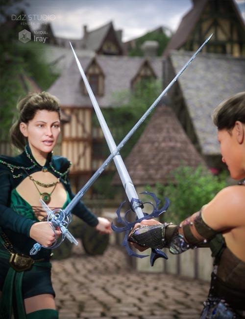 Dueling Swords