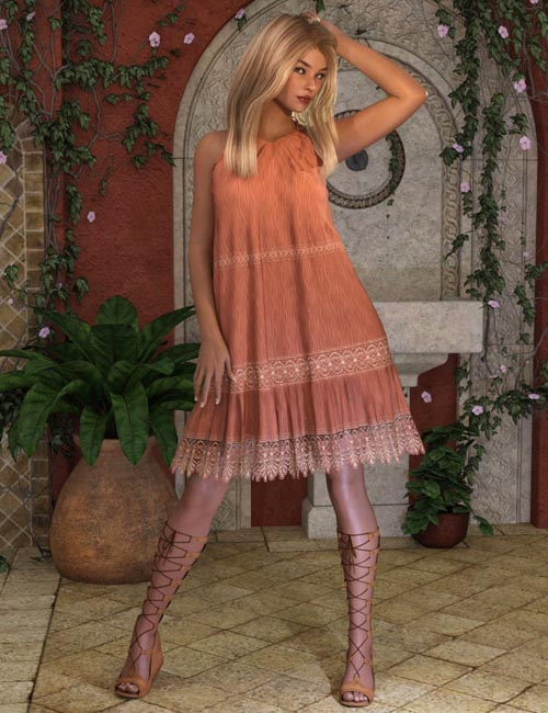 dForce Free Spirit Outfit for Genesis 8 Female(s)