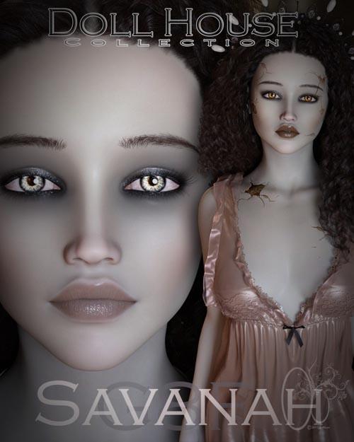 CB Savanah for Genesis 8 Female
