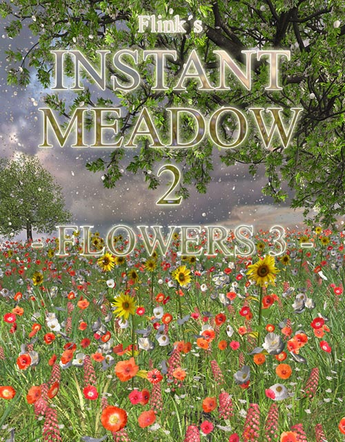 Flinks Instant Meadow 2 - Flowers 3