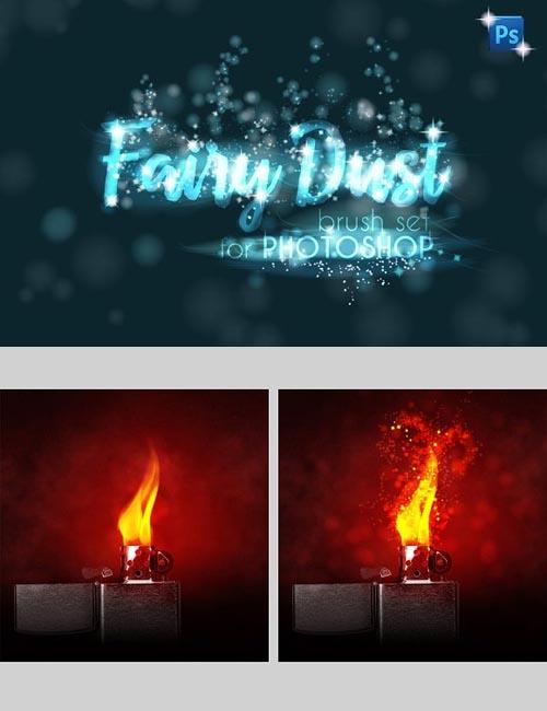 Fairy Dust PHOTOSHOP sparkle brushes