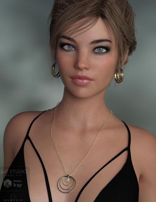 Hoops Jewelry for Genesis 8 Female(s)