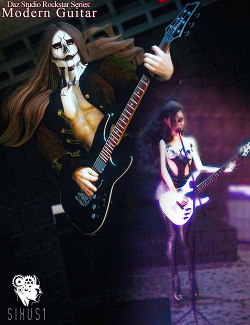 Rockstar Series: Modern Guitar- G3 G8 DS