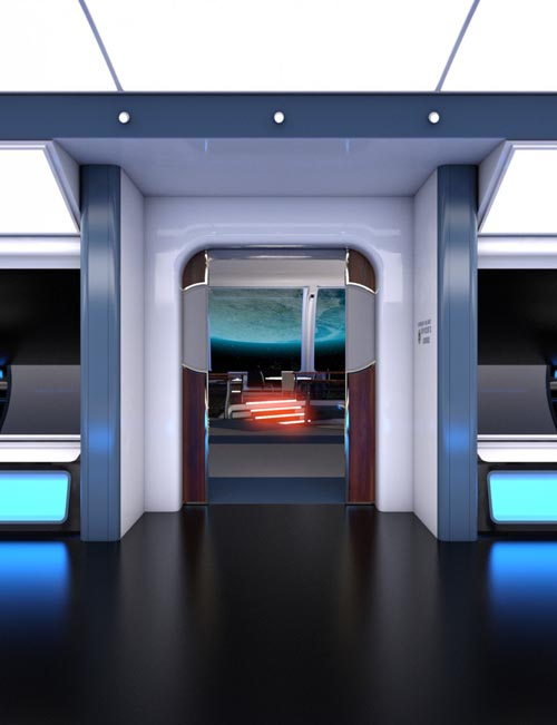 Collective3d Movie Sets Starship Lounge